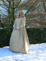 Elizabeth coronation gown 1558 by Abigial709b