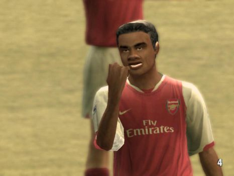 Me in Fifa 07 by ssejllenrad2