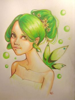Green Fairy by Anomaly9