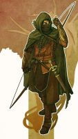 Ithilien Ranger by rosiecoleman