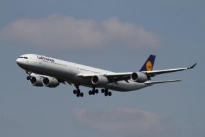 Airbus A340-642 by PlaneSpotterJanB