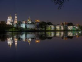 Novodevichy Convent by ChaoticMind75