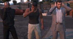 GTA5: See No Evil, Speak No Evil, Hear No Evil by RandomCrap123