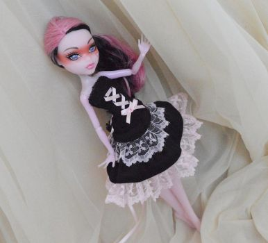 Black and pink set by ceressiass