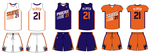 Phoenix Suns Uniform by SimplyMoono