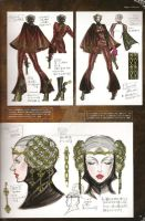 BAYONETTA ARTBOOK- PAGE 47 by TheDemonLady