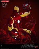 TRDL - Iron Man vs. Carnage by TRDLcomics