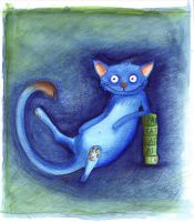 Zozo the Cat by Lilizia
