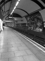 The Empty Underground by bec66ky