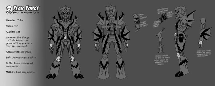 Toku Design Sheet by diabolicol