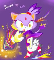 Blaze rainbow fire by Melky9714
