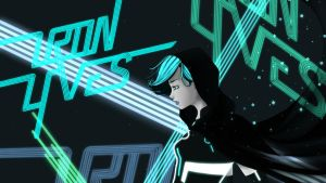 Commission: Tron Lives Wallpaper by NamineNobody