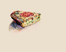 Vegetable and Sausage Quiche by emptypulchritude