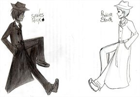 Mobster and Sleuth by Leila-Zero