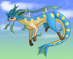 Fusion - Leafarados by TheSplashingMAGIKARP