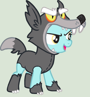 MLP Traced Base- Wolf Costume by Fillychu100-bases