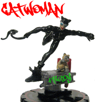 Catwoman Custom Heroclix by killers-boster