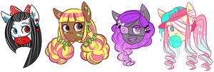 Patch Up Ponies Auction (CLOSED) by FavfiAdopts