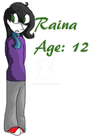 Younger Raina by Wolfhorsegirly