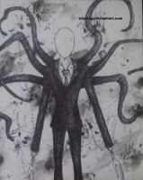Slenderman by siouxagi