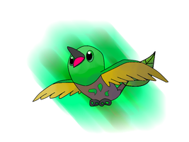 001 Leafachick by fakemon123