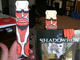 Shingeki no BookMark or Attack on Reading? by cavemonster