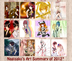 Nagisako Art Summary of 2012 by Nagisako