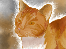 A Painting of Rusty by Angiebutt
