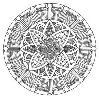 Mandala 29 June 2014 by Artwyrd