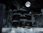The Haunted House, final. by crabskiller