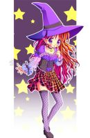 Happy Witchy Halloween by Tetiel