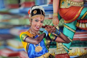 Indian Dancer-6 by SAMLIM