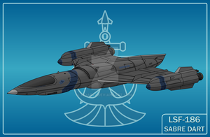 LSF-186 Sabre Dart by MOAB23
