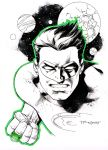 Green Lantern sketch - LBCC 2014 by aethibert