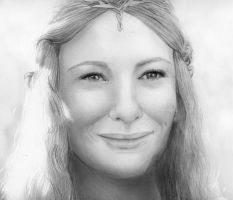 Galadriel again by EmberRoseArt