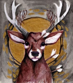Deer by BlackBigBear