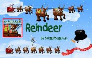 Reindeer by bk13garbageman