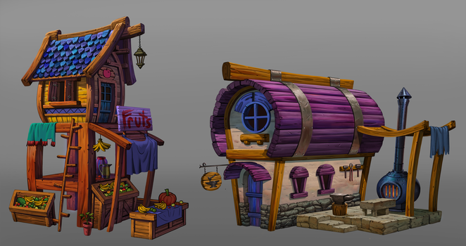 House Concepts by Benjie-art