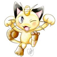 Meowth by PokeSonFanGirl