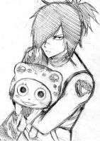 Rogue and Frosch sketch by Reyos-Cheney