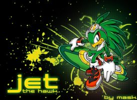 Jet the Hawk by Mask16