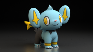 #403. Shinx by TheAdorableOshawott
