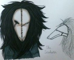 Creepypasta: The Seedeater by Smokertongas-arts