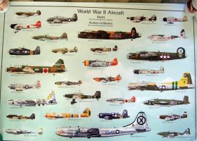 ww11 air craft poster by Sceptre63