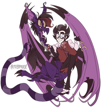 The Proud Parents of Lucifer by A7XSparx