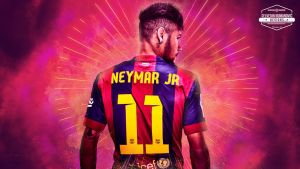Neymar Jr. HD wallpaper 2015 by SelvedinFCB