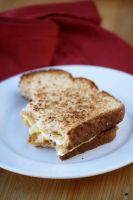 Fried Egg on Toast by bittykate