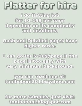Flatter for Hire by iFlat