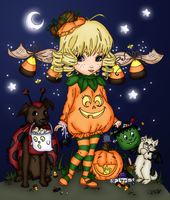 Trick or Treat by Blackmoonrose13