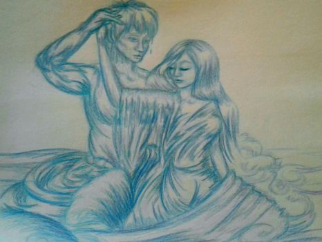 Tigris and Euphrates meet by ElementalEmily